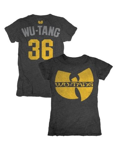 Wu-Tang Clan Logo 36 Womens T-Shirt