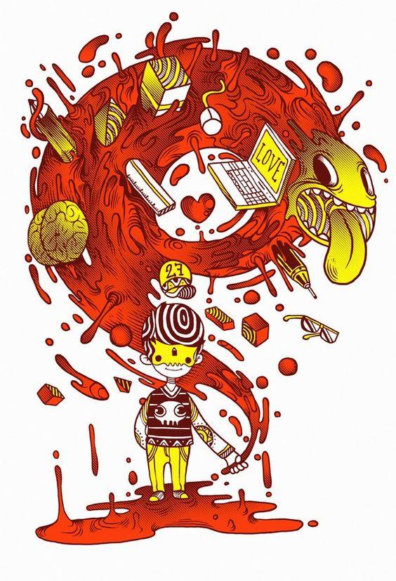Raul Urias | Various Illustrations  www.raulurias.com  FOCUS: Illustration, Graphic Design