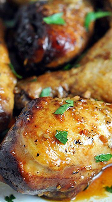 Slow Cooker Honey-Soy Chicken Drumsticks