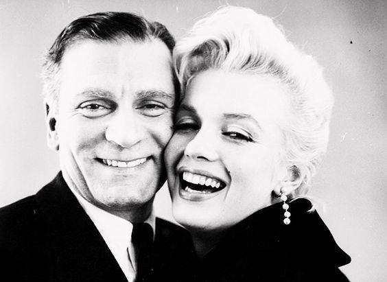 Laurence Olivier, Marilyn Monroe by Milton Greene, 1956