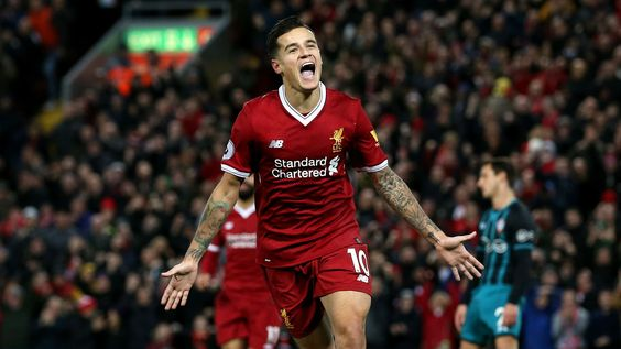 Coutinho had been associated with Liverpool.