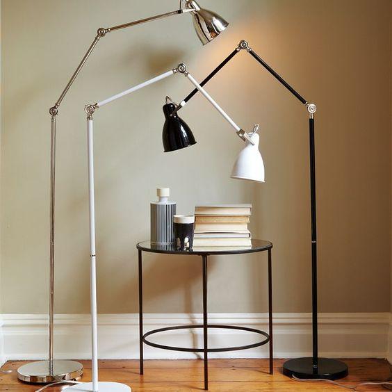 Lámpara para cuarto y/o sala (West Elm, $169)