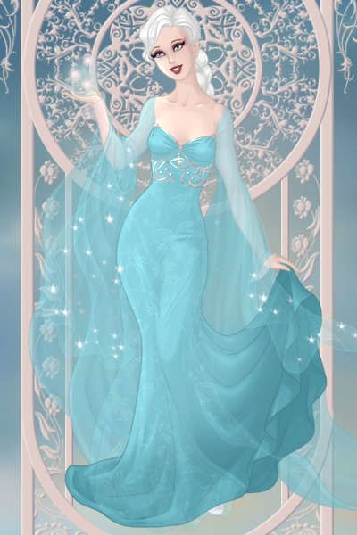 Elsa from Frozen ~ by Zamizazi ~ created using the Modified Dolls doll maker | DollDivine.com: