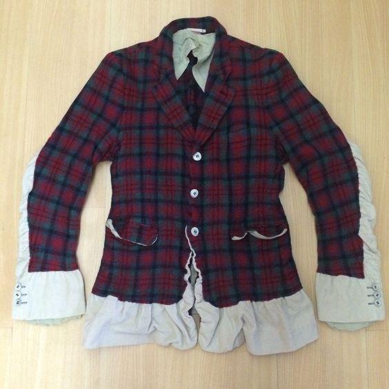Comme Des Garcons Homme Plus Evergreen Hand Milled 2 in 1 Wool Corduroy Jkt | eBay