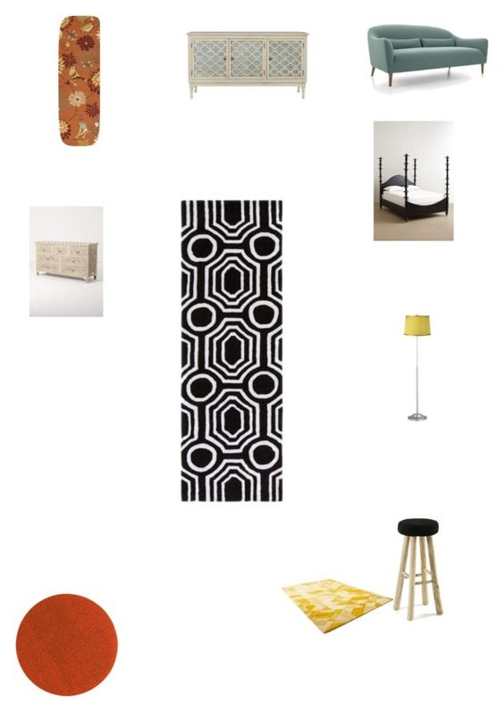 """Untitled #3307"" by brittklein ❤ liked on Polyvore featuring interior, interiors, interior design, home, home decor, interior decorating, Surya, Chilewich, Crate and Barrel and Selamat"