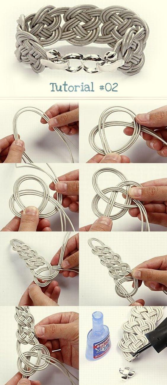 tutorial pulseira