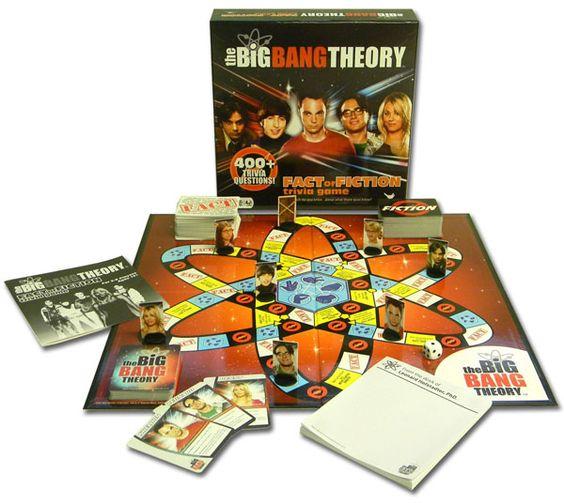 big bang theory games played