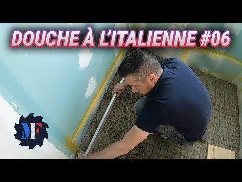 Comment Faire Une Douche A L Italienne De A A Z 6 16 Chape Maigre Evacuation Youtube Douche Italienne Comment Renover Une Salle De Bain Douche