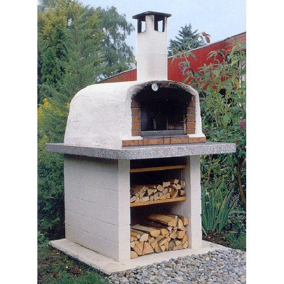 Pizza- und Brotbackofen TL-80 (Bausatz)