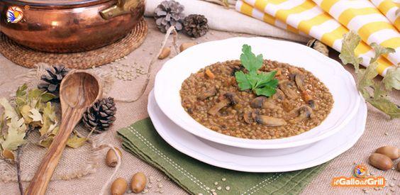 Zuppa di Lenticchie e Funghi | il Gallo al Grill