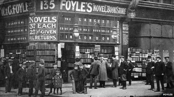 Waterstones buys Foyles to defend bookshops against Amazon - BBC News