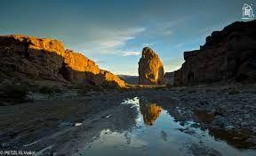 El área natural protegida de Piedra Parada se encuentra muy cerca de la ciudad de Esquel