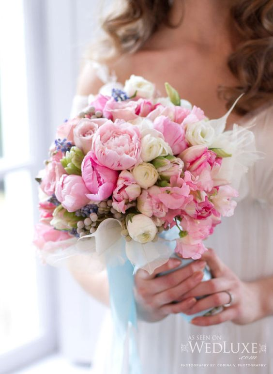 Watercolor inspired bouquet. Paras Mehta from Design2Decor.