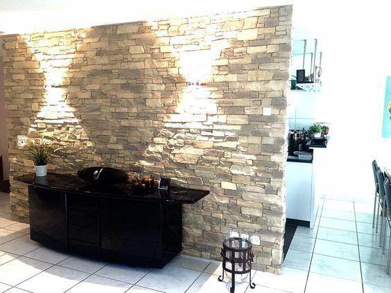 Wandgestaltung Naturstein Navarrete | Wandgestaltung Wohnzimmer | Pinterest  | Wand