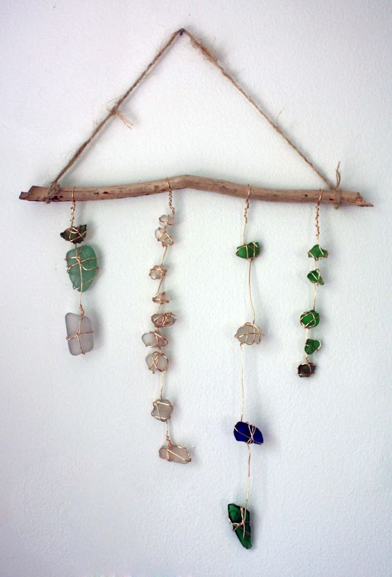 i have a ton of sea glass to do this!!!