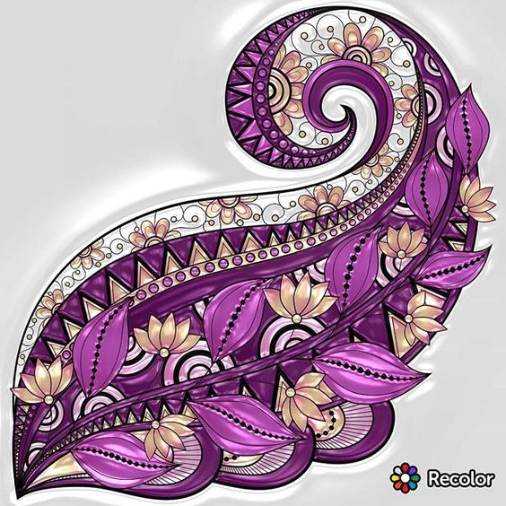 #recolor #colortherapyclub #beautifulcoloring #adultcoloringbook #colortherapy