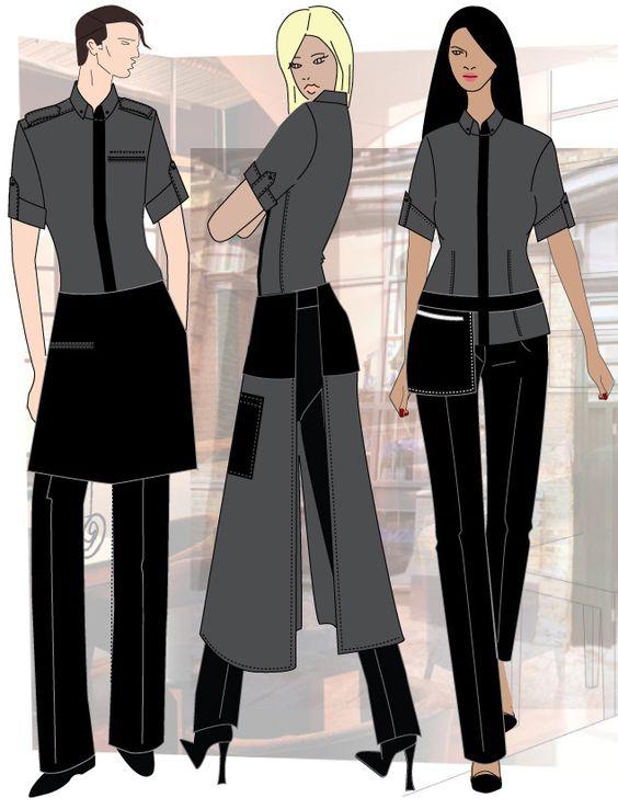 fine dining waiter uniforms - Αναζήτηση Google UNIFORMS