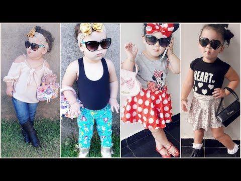 1 اشيك اطقم اطفال بناتى صيفى 2018 ملابس اطفال بنات صيفية 2018 Youtube