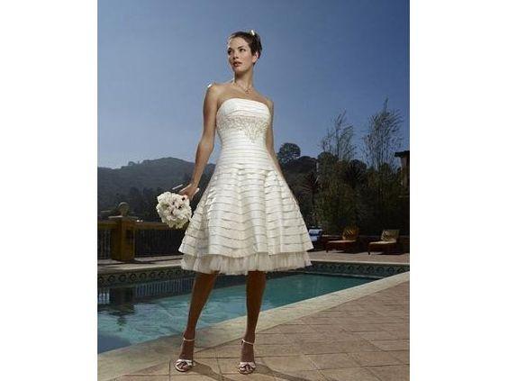 Vestido de novia para boda en la playa corte imperio: Wedding Dressses, Wedding, For Wedding, Wedding Dresses, Boda Playa, Length Reception