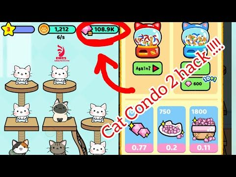 Cat condo 2 - game hack with luckypatcher 2019 - YouTube