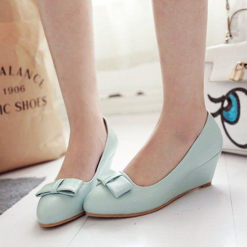 Petit tour/Asakuchi/chaussures arc doux/femmes coréennes chaussures/Chaussures de travail/Chaussures-C Longueur du pied=21.8CM(8.6Inch)