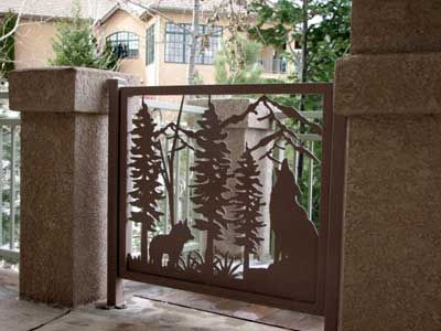 Howling Coyote Exterior Gate