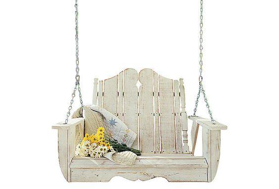 Nantucket Swing, White Wash on OneKingsLane.com