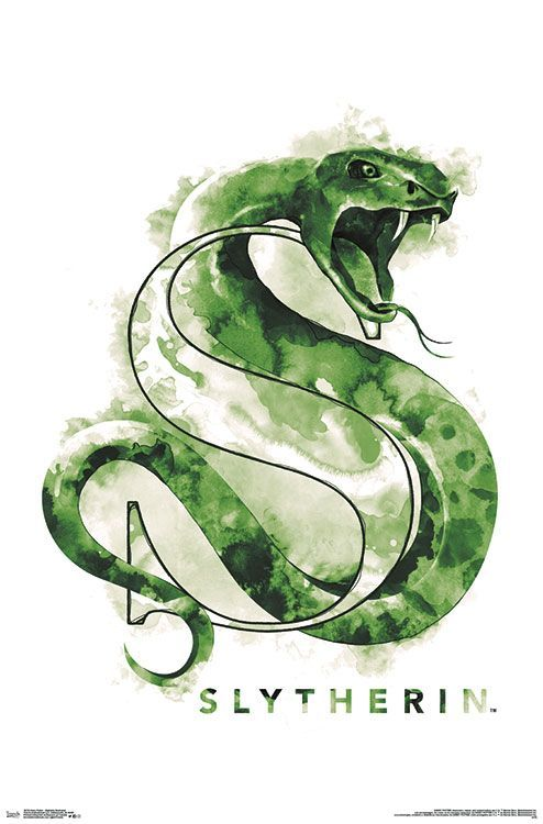 Free 2 Day Shipping On Qualified Orders Over 35 Buy Harry Potter Slytherin Illu Harry Potter Poster Harry Potter Tattoos Harry Potter Bildschirmhintergrund
