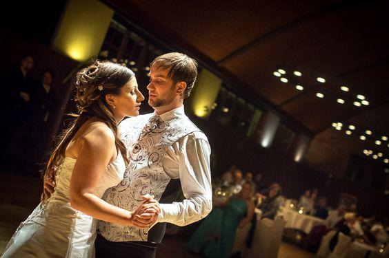 Der Hochzeitstanz - einer der Höhepunkte der Hochzeitsfeier.