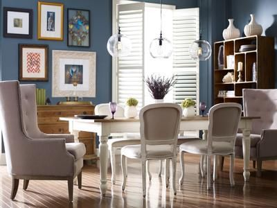 Dining Room Furniture - Furniture stores in Knoxville - Braden's Lifestyles Furniture - Four Hands Furniture - Dining Room Décor - Home Décor - Interior Design - The Design Center at Braden's