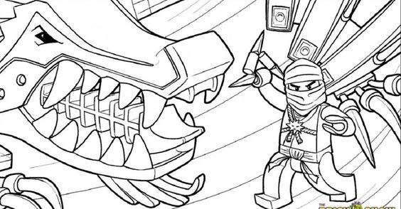 lego ninjago coloring pages golden ninja Superhero