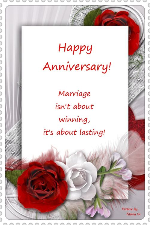 Happy Anniversary Marriage Isn T About Winning Picture By Gloria W Happy Anniversary 12th Wedding Anniversary Anniversary