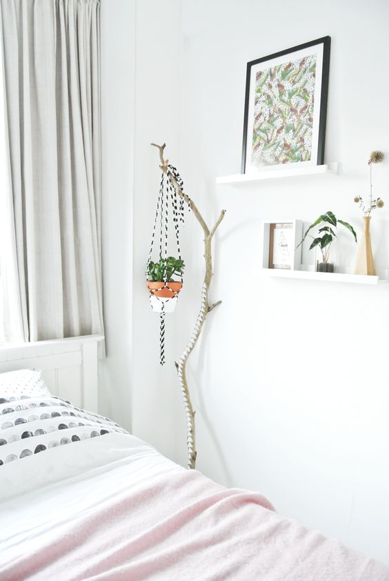 Urban Jungle Bloggers: Cosy and Green bedroom: