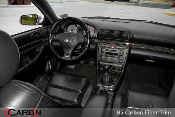 Ocarbon Audi A4 B5 Carbon Fiber Interior Trim For A4 S4 Rs4 Audi A4 Audi Motorsport Audi S4