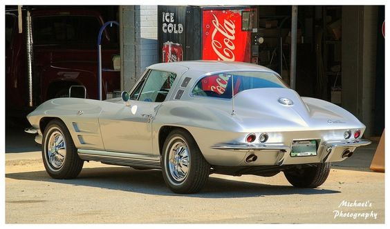 A Sharp Silver 1964 Corvette by TheMan268.deviantart.com on @deviantART