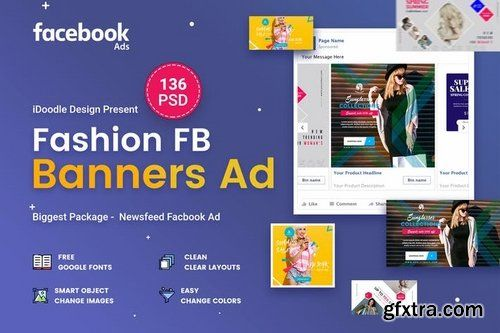 Template Facebook Ad