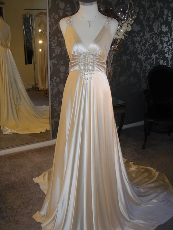 1920s vintage clothing for sale flapper prom dresses for Vintage flapper wedding dress