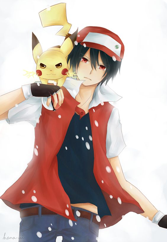 Pokemon Trainer Red by ~hana-mi on deviantART | Pokemon ...