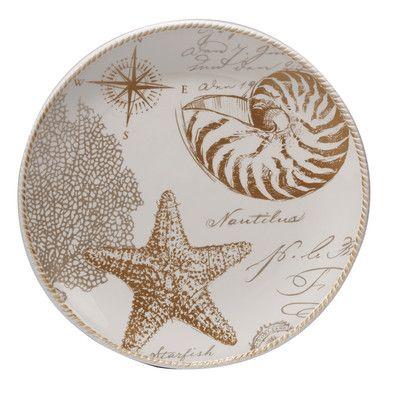 Certified International Coastal Discoveries Round Platter