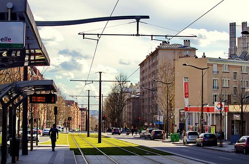 Paris le tramway T3b 1