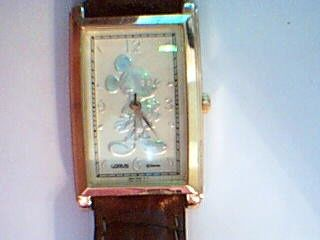 **HIGHLY COLLECTIBLE** LORUS Mickey Mouse Watch