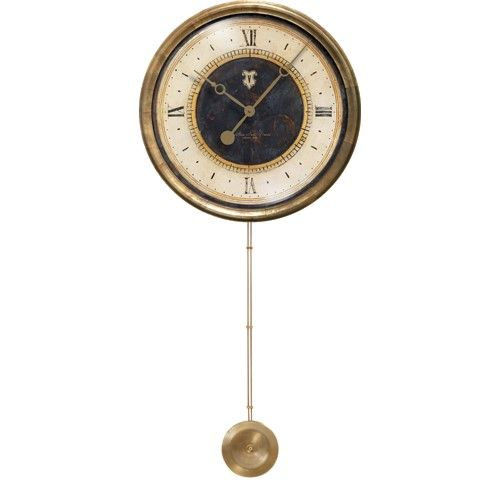 Love Timeworks Clocks You Will Love This Line From The Former Owner Founder This Caffe Venezia Long Pendulum Clock Is A Stun Clock Wall Clock Black Wall Clock