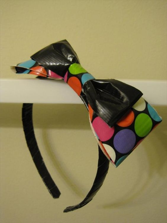17 DIY Duct Tape Bows | 101 Duct Tape Crafts