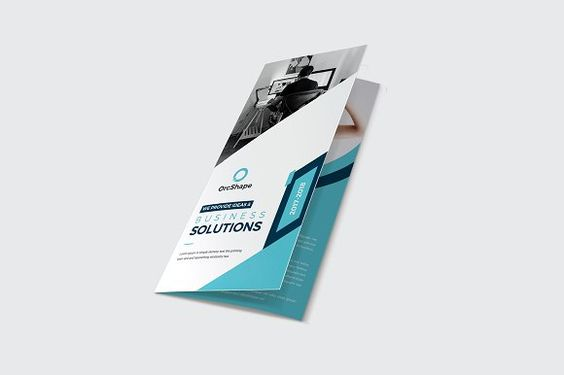 Business Trifold Brochure by Psd Templates on @creativemarket - brochure template word