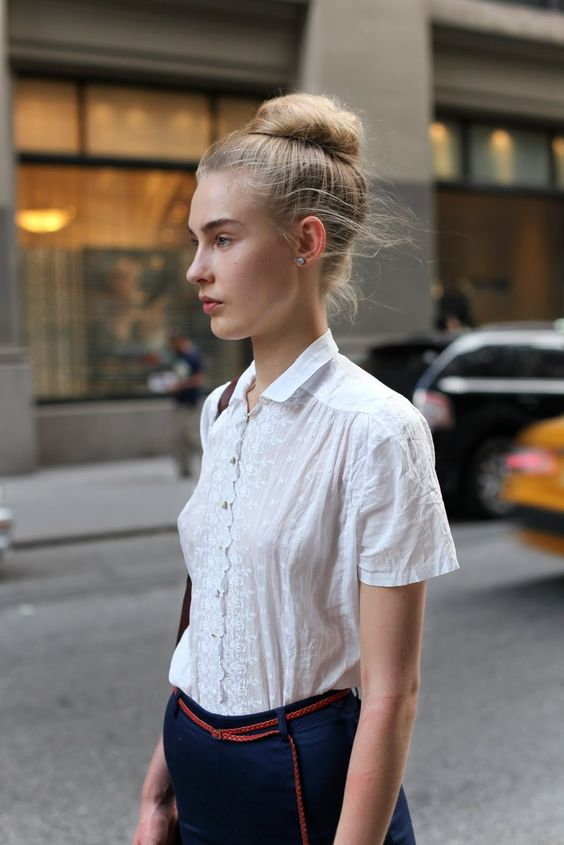 #fashion #streetstyle #hair #belts