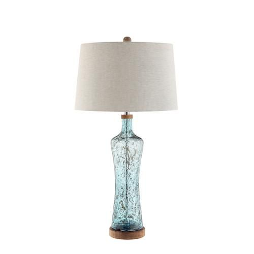 99936 Allie Table Lamp Table Lamp Glass Table Lamp Blue Table Lamp