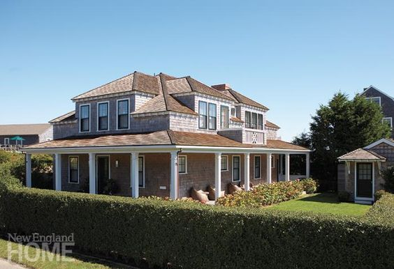 Classic Shingle Style On Nantucket Architecture By Mark