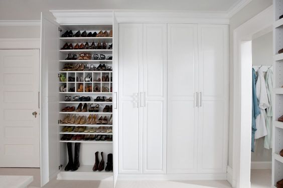 Shoe Storage Closet Closet Traditional With Cabinetry Traditional Shoe Racks Closet Shoe Storage Traditional Shoe Rack Closet Storage
