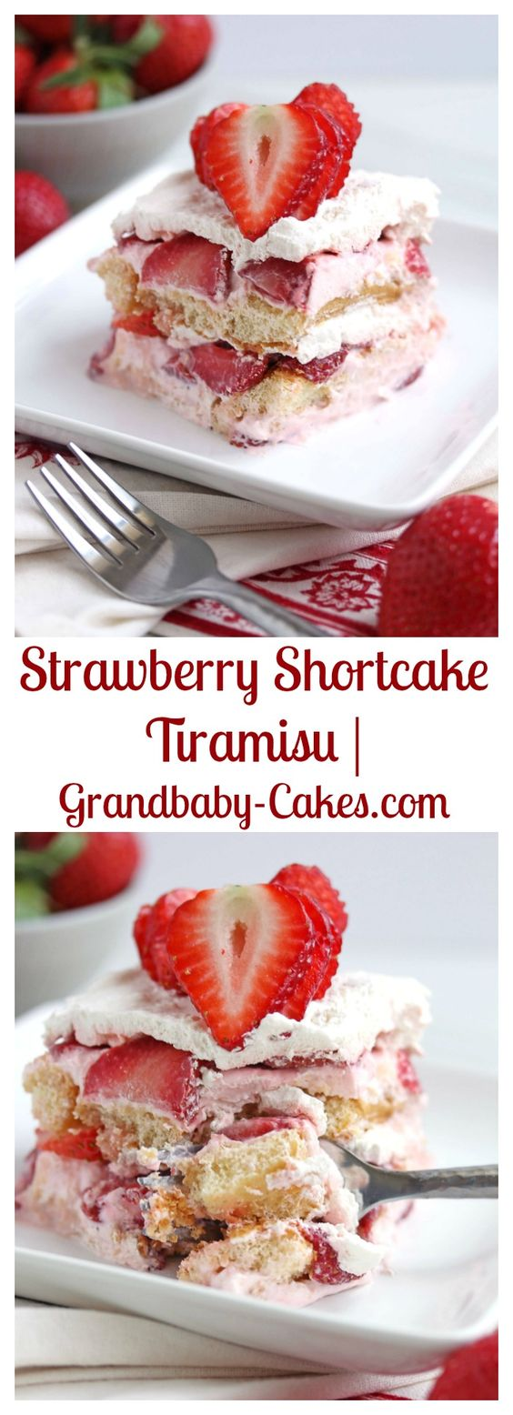 strawberry shortcake mascarpone cheese strawberries mascarpone cream ...