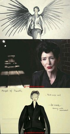ahs angel of death costume - Google Search